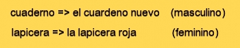 Gramatica espanhola - substantivos