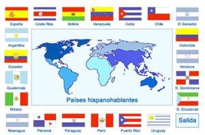 paises que falam espanhol