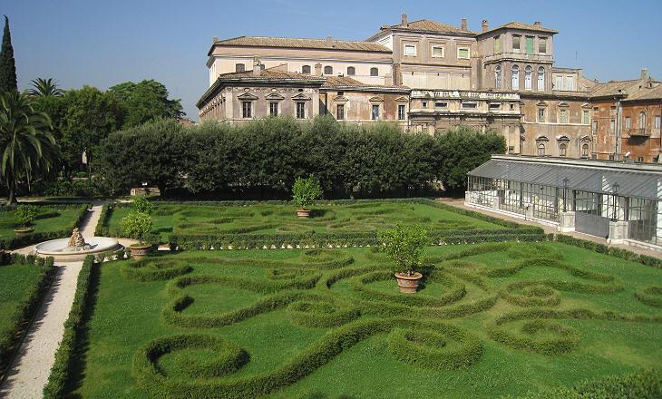 jardins do palazzo barberini